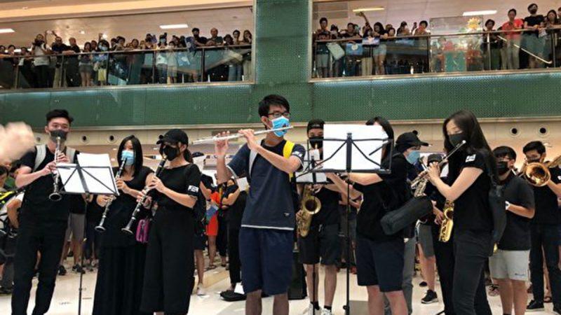 反送中怒火延烧 香港抵制华为等亲共企业