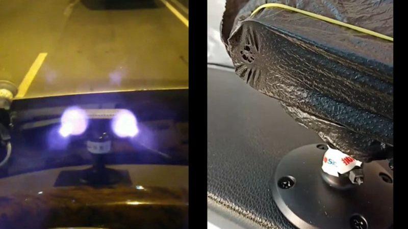 湘旅遊巴裝「人臉識別」燒穿毛巾 灼傷司機眼睛