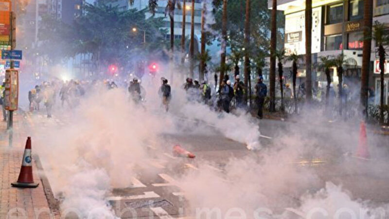 港警:香港反送中被捕学生人数占30%