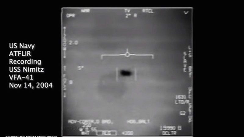 首認3段UFO視頻是真的 海軍發言人:影片不應傳出(視頻)