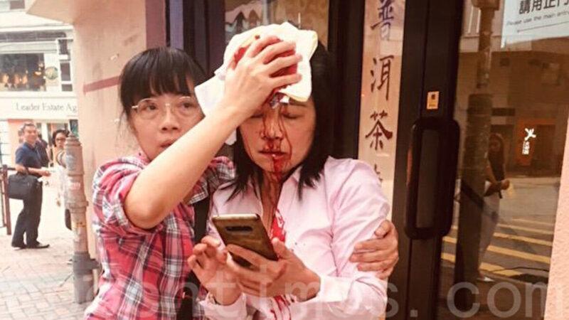 云帆:香港警署外的黑衣人与大陆信访局里的警察