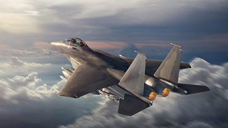 配有先進設備 波音公布F-15EX戰機飛行畫面