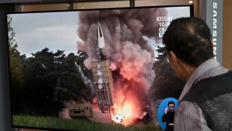 朝鲜射火箭炮一枚失败  韩媒:可能再挑衅