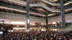 回击中共官媒造假 港人为悼念9.11暂停抗议一天