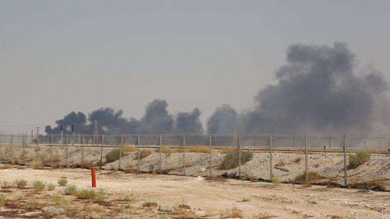 沙国石油遭攻击堪比珍珠港事件 美拿卫星照佐证