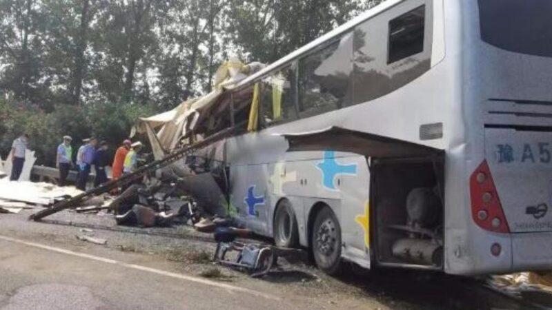 中共十一前重大噩耗:江蘇車禍釀36死36傷