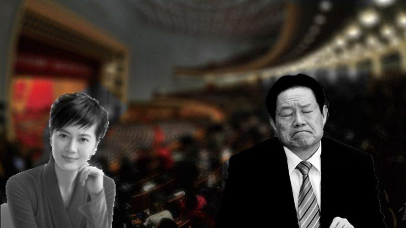 """央视前女主播香港出书 揭与周永康的""""故事"""""""