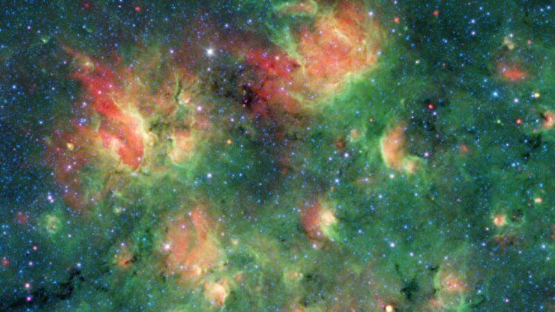 NASA:銀河系某區域充滿泡泡 內藏大量恆星