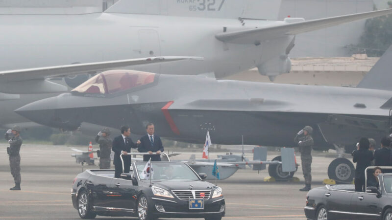 疑不满韩国大秀F-35A战机 朝鲜今晨再射飞弹