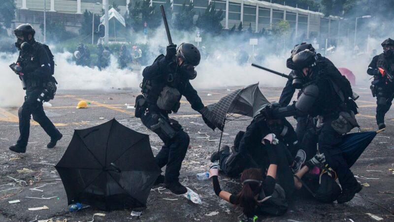 """中共对高校""""消毒"""" 防止大陆学生效仿香港"""