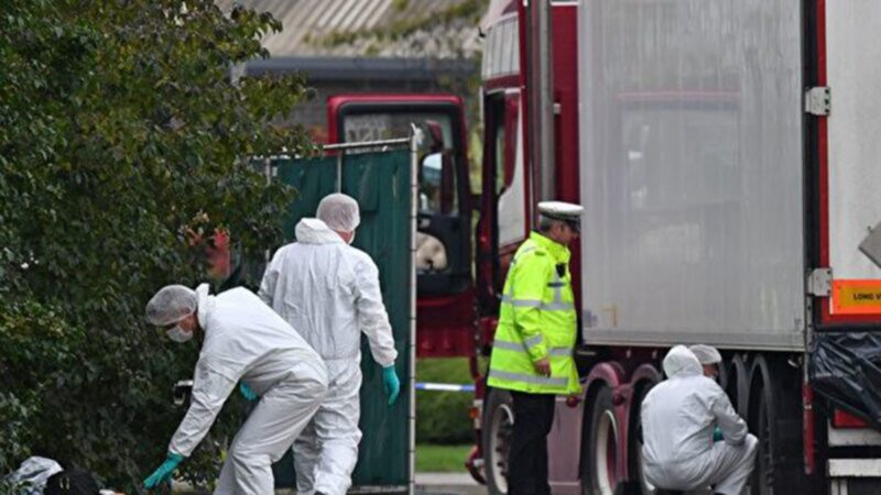 39人货柜车冻死 英国警方抓4嫌犯