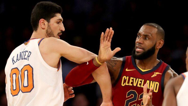 NBA球员发推撑自由网民盛赞 詹姆斯沦恶搞对象