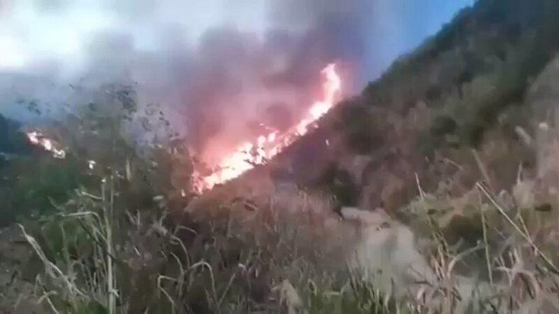 廬山大火連燒3天未撲滅 官媒集體噤聲(視頻)