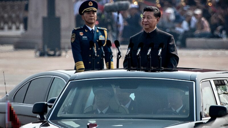 習閱兵講話只提毛澤東 穿毛服拜毛屍引猜測