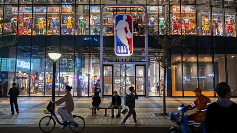 NBA上海賽今晚舉行 中共煽情遇挫球迷糾結