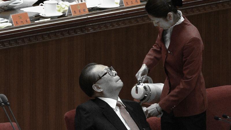 江澤民緊盯美女照 中共外交部跳腳