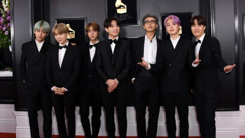 BTS获2019全美音乐奖三奖项 连2年获奖