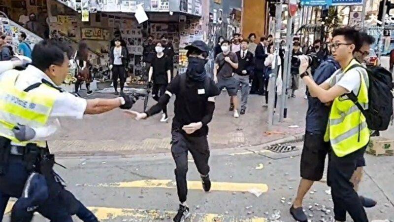 港警開槍擊倒2人 美參議員:天安門事件再現