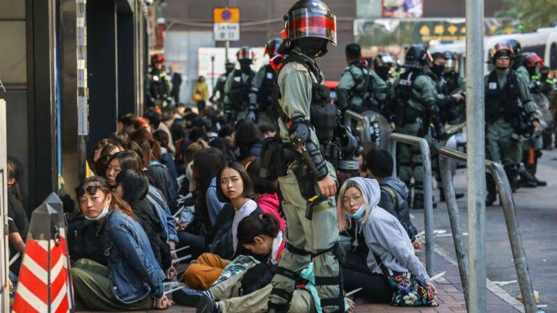 港警性暴力触目惊心 月余67名抗争者受害