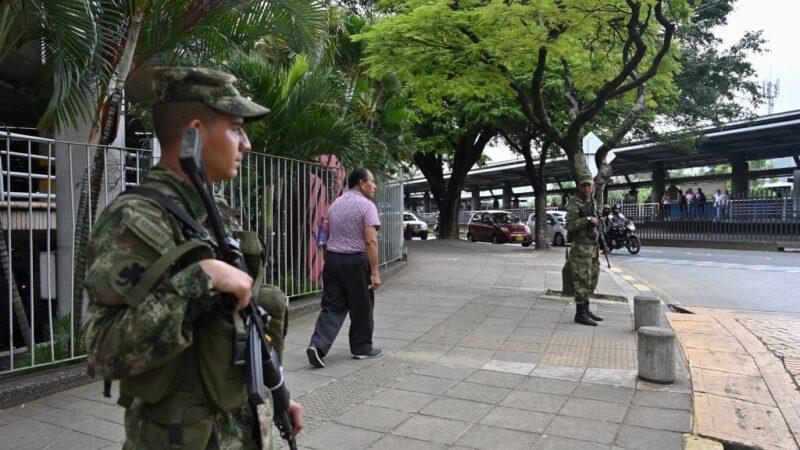 動盪不安 哥倫比亞警局遇襲警員3死7傷