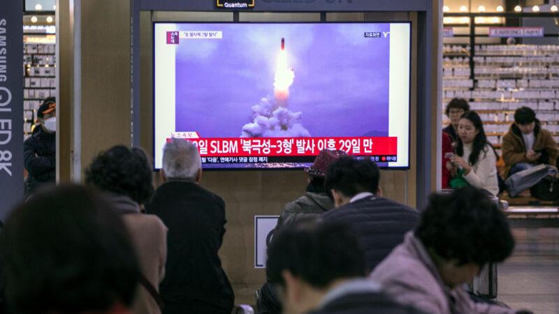 朝鲜疑试射弹道飞弹 日两度发紧急航行警报