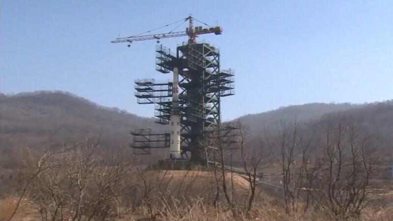 催美对话 朝媒:在西海卫星基地进行重大测试