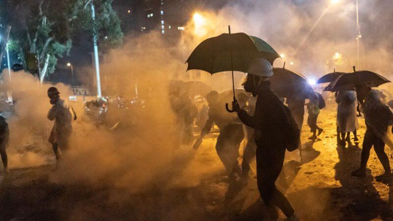 化學武器肆虐東方之珠 揭催淚彈對人體和環境毒害