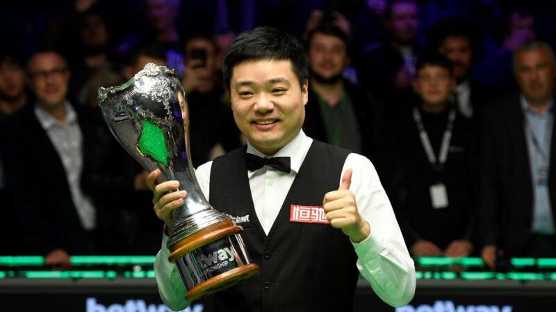 丁俊晖破27个月冠军荒 世界排名重返前十
