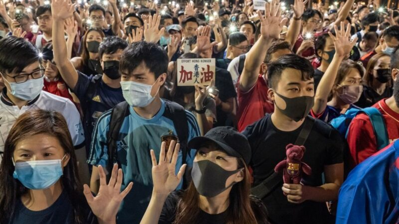 抗爭6個月 港人因何撐到今?香港警察給本節目留言