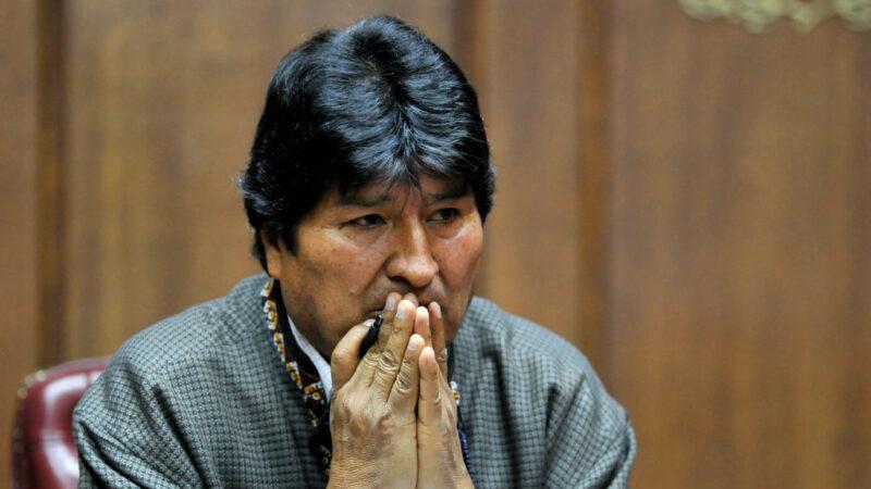 莫拉莱斯获阿根廷难民身份 玻利维亚将发逮捕令