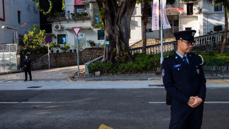 """澳门全城设""""天眼""""监控 议员:疑变秘密警察社会示范香港"""