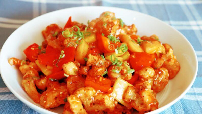 【美食天堂】印度著名滿洲花椰菜~必吃酥脆花椰菜食譜!家常料理食譜 一學就會