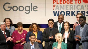 谷歌母公司成美国第四家兆元企业
