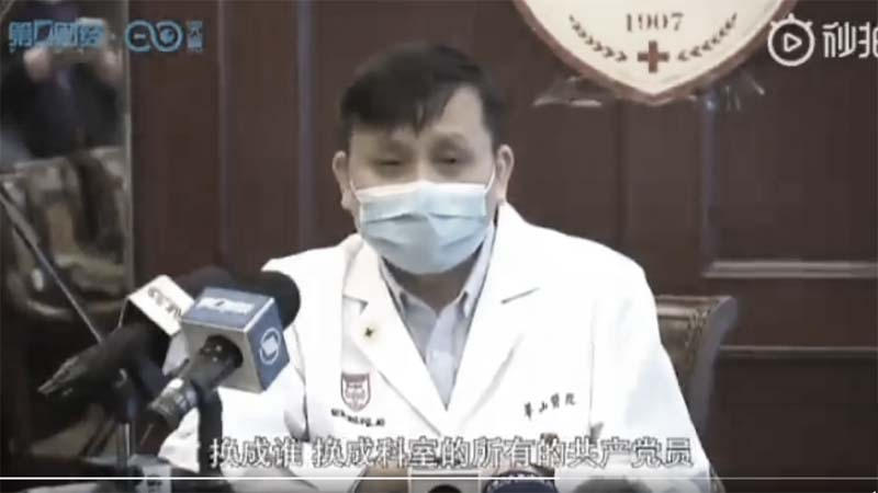 讓黨員先走?上海醫院主任令黨員上一線抗疫 網友叫「好」