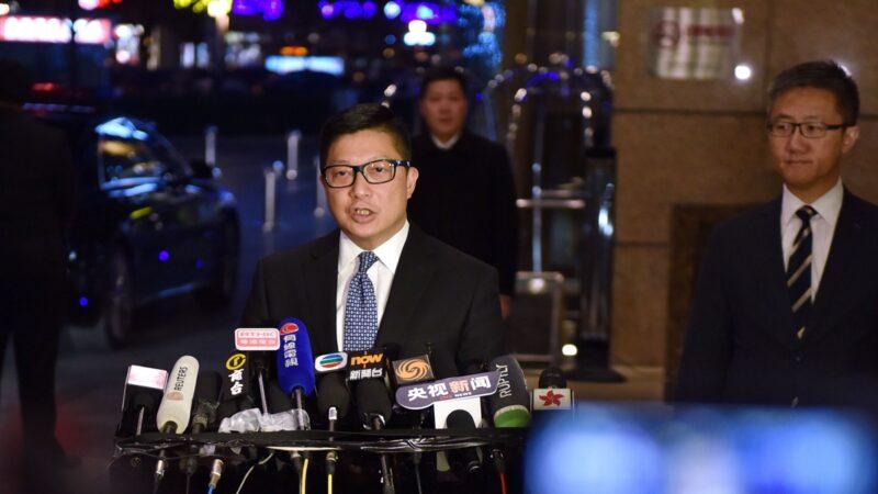 香港區議會通過動議:鄧炳強率警赴武漢抗疫