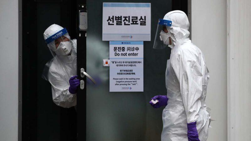 韩国确诊病例1天暴增231 被迫建议中国留学生休学