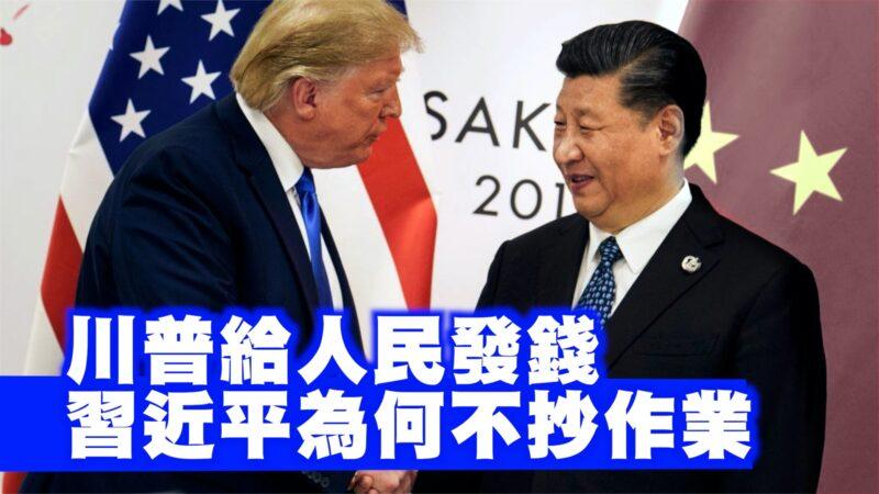 """川普给人民发钱 习近平为何不""""抄作业""""【西岸观察】"""