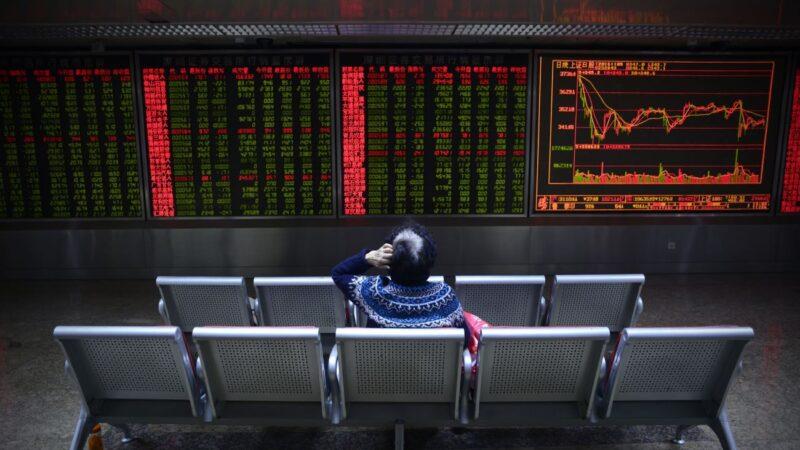 一周净卖出417亿 外资加速逃离中国股市