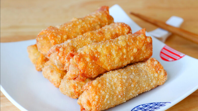【美食天堂】美式著名春卷的家庭做法~超级酥脆,看了直流口水!家常料理食谱 一学就会