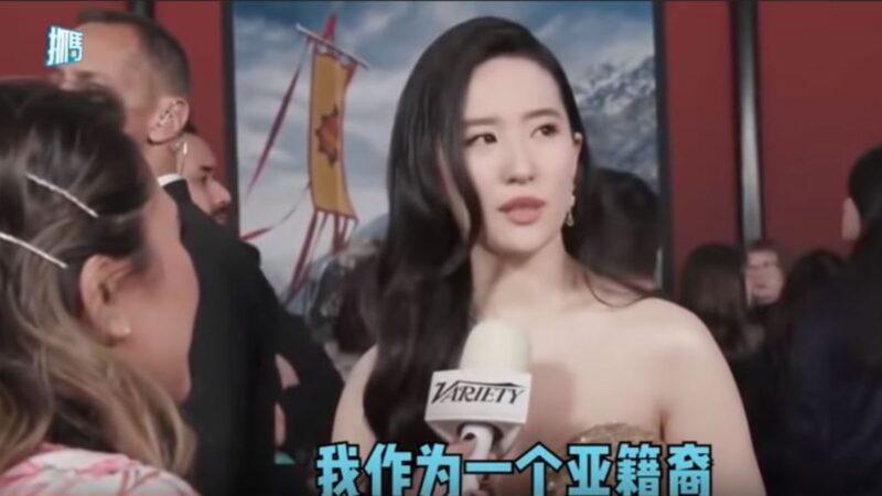 """撑港警遭抵制  刘亦菲自称""""亚裔""""又被陆民骂爆"""