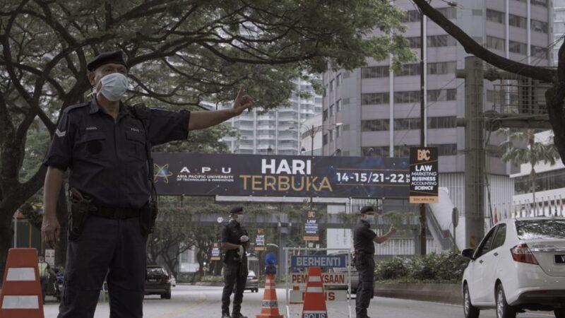 中共肺炎 马来西亚祭行动管制令 违者逮捕