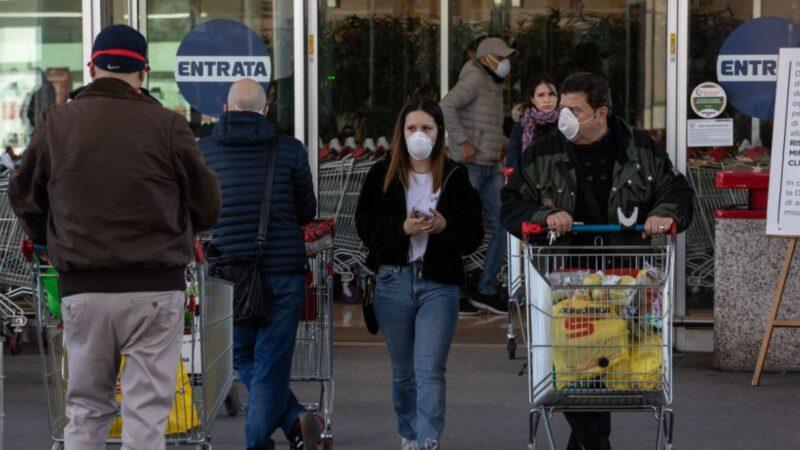 意大利武肺疫情恶化 确诊破万 单日死亡激增168例