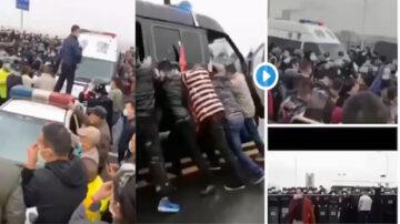 江西警察阻湖北人入境 引发万人抗议