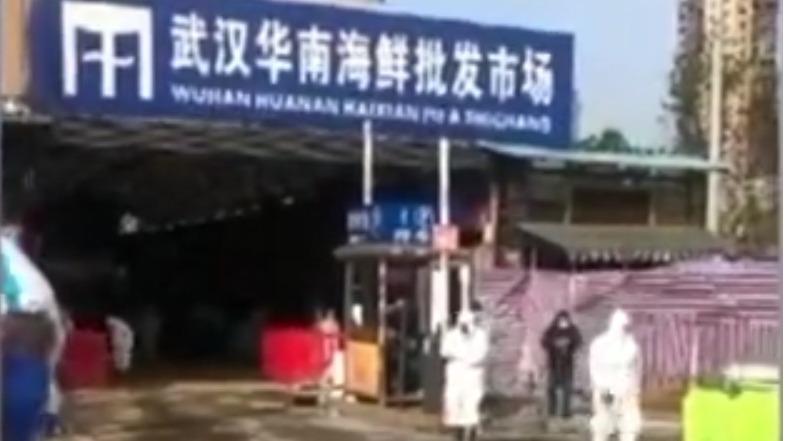 没有防护服  一家四口住华南海鲜市场43天无感染