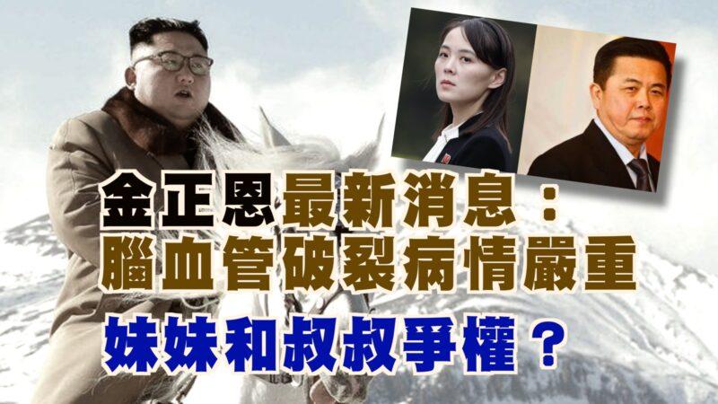 【西岸观察】金正恩最新消息:脑部血管破裂病情严重