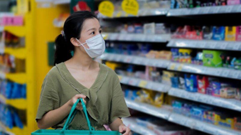 疫情期间去超市买东西 怎样做更安全?(组图)