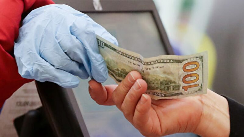 钞票、包裹可能沾有病毒 这样做防感染(组图)
