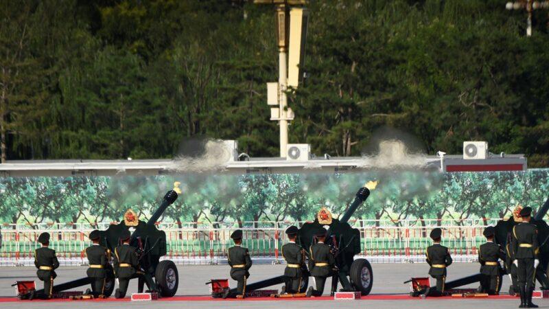 網傳中南海深夜槍響 大批軍人進京(視頻)