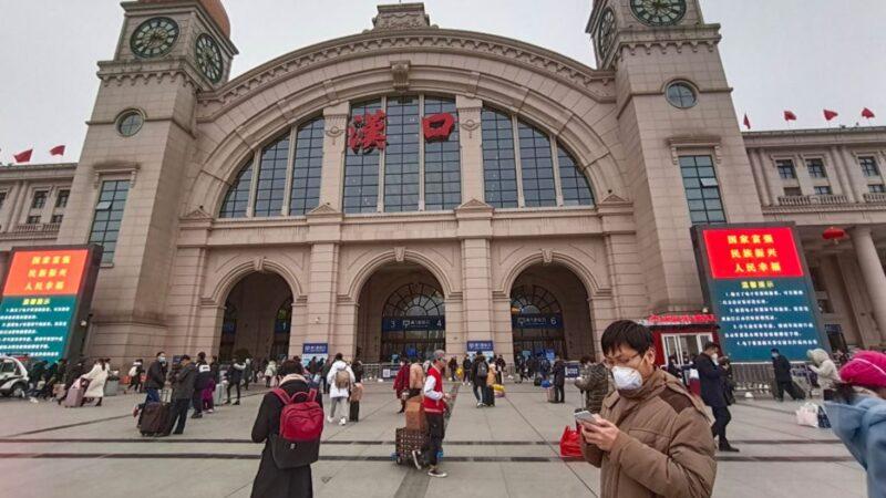 官媒称武汉开城不等于开家门 市民疯狂出逃上海