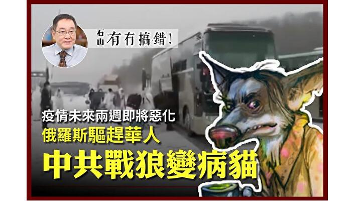 【有冇搞错】俄罗斯驱赶华人 中共战狼变病猫